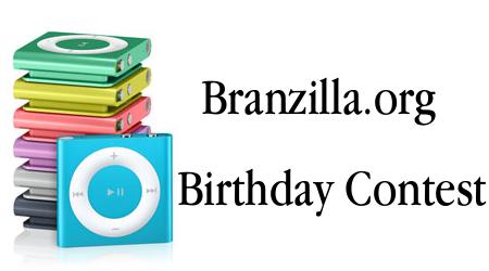 Branzilla.org Birthday Contest [Concluso]