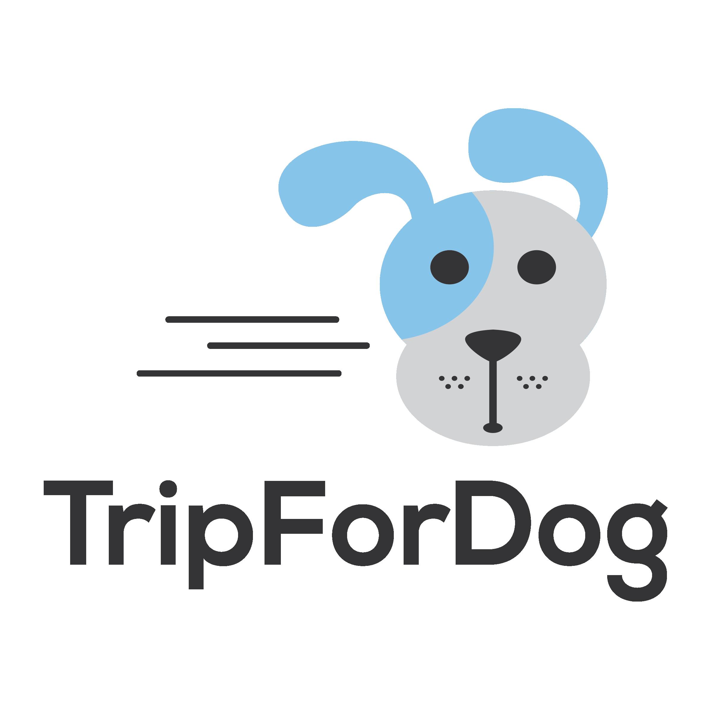 TripForDog_Logo_V_Black