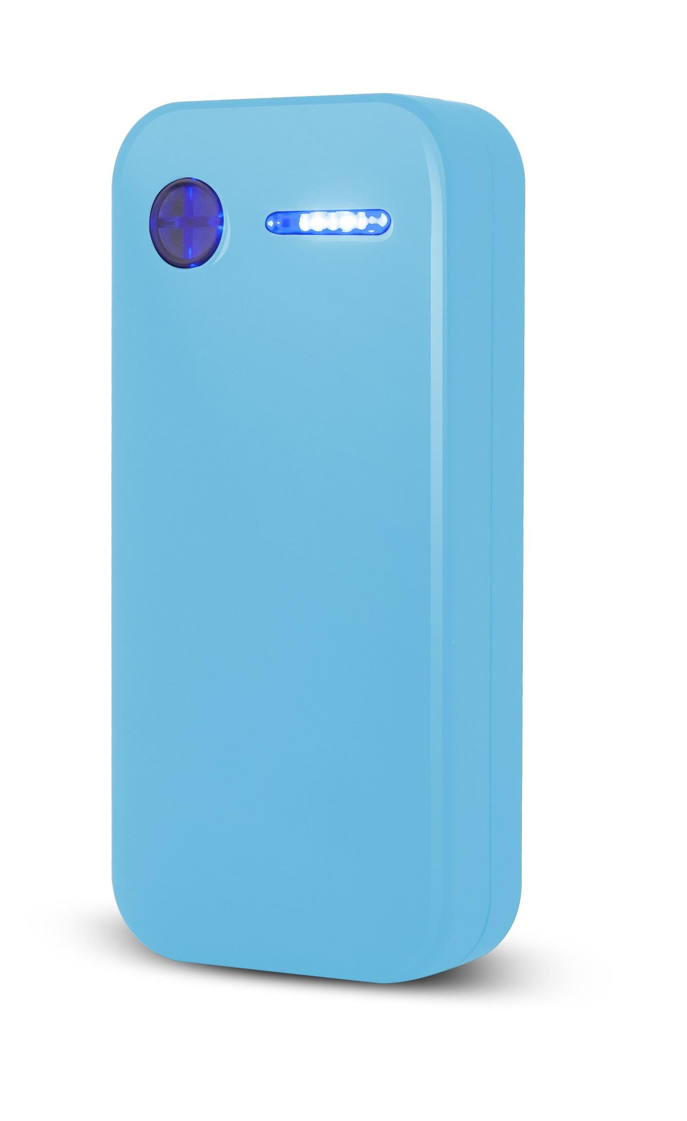 Power Bank Rainbow - light blue