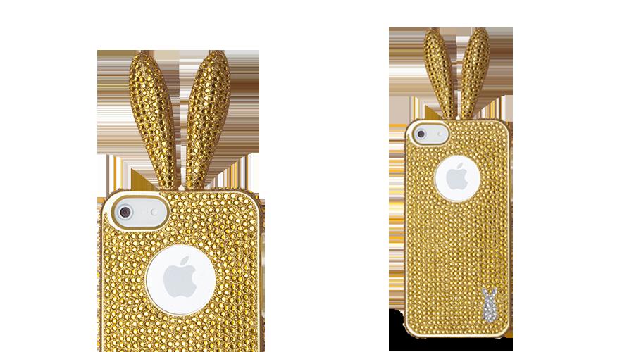 Rabito-Case-iphone5-Premium-Gold