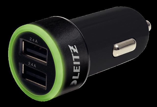 Caricatore USB Universale per Auto Leitz Complete
