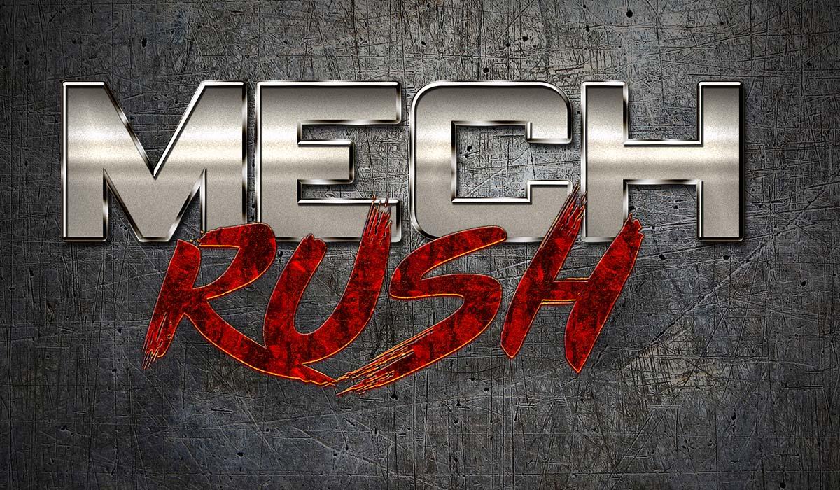 Mech Rush Logo