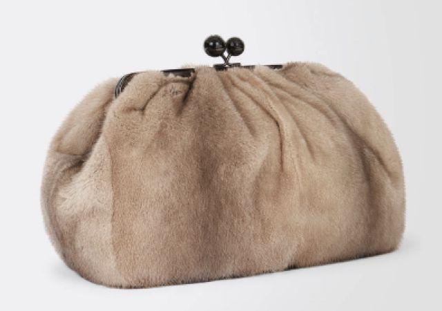 Pasticcino Bag Maxi in Visone di Max Mara  4397384688e