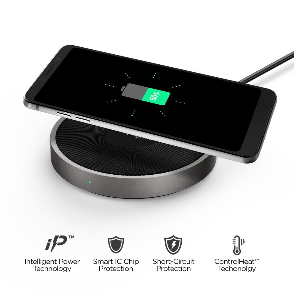 new styles 7faf6 b3f20 Spigen: Essential Fast Wireless Charger F306W [Recensione] | Branzilla